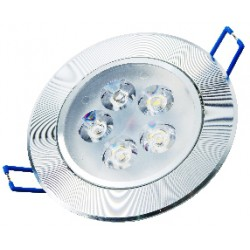 Oprawa Downlight LED 5x1W