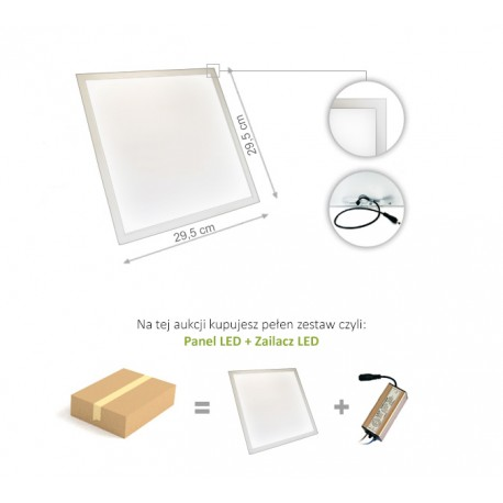 Panel LED slim 13W NW/CW