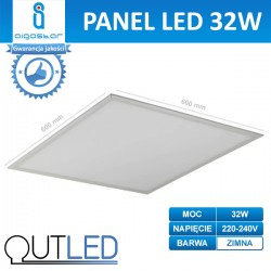 Panel LED slim 32W AIGOSTAR