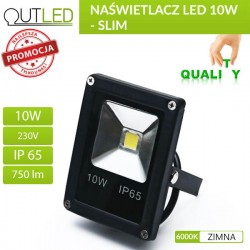 Naświetlacz LED SUPER MINI 10W WW
