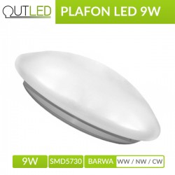Plafon Led 9W WW/NW/CW