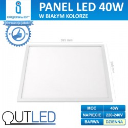 Panel LED slim 40W AIGOSTAR