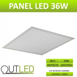 Panel LED slim 36W CW / NW