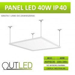 Panel LED Slim 40W IP40