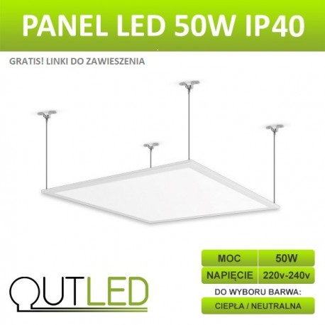 Panel LED Slim 50W IP54