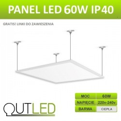 Panel LED Slim 60W IP40